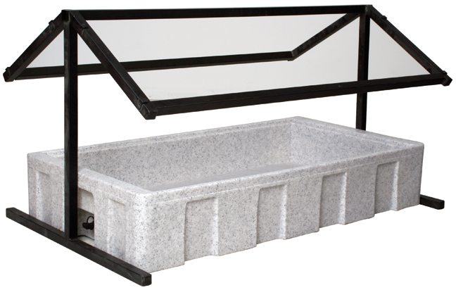 Pin stainless steel bbqs on pinterest - Sneeze guard for steam table ...